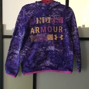 Girls Under Armour Hoddie